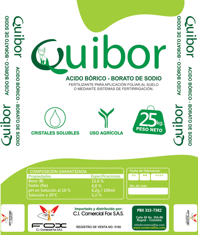 3 quibor