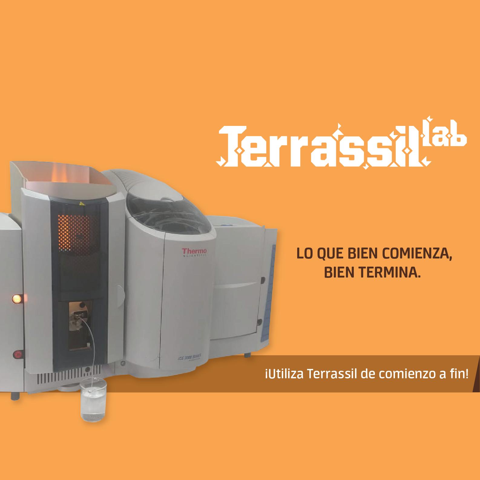 Terrassil lab slogan