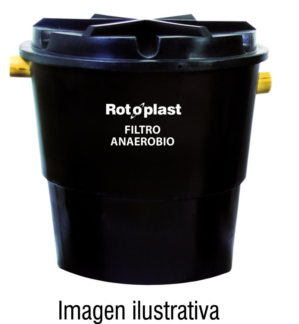 Filtro anaerobio rotoplast c.t. negro