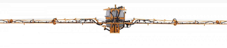 Fumigadora tractorizada jacto condor 800 am 18 frontal