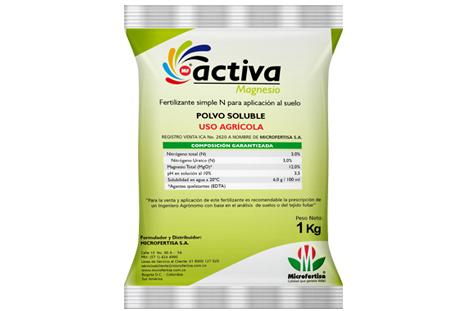 Fertilizante activa magnesio