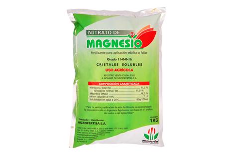 Fertilizante nitrato de magnesio microfertisa