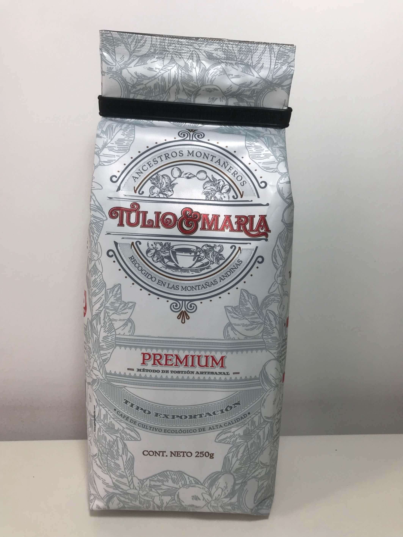 Caf%c3%a9 tulio y mar%c3%ada premium 250