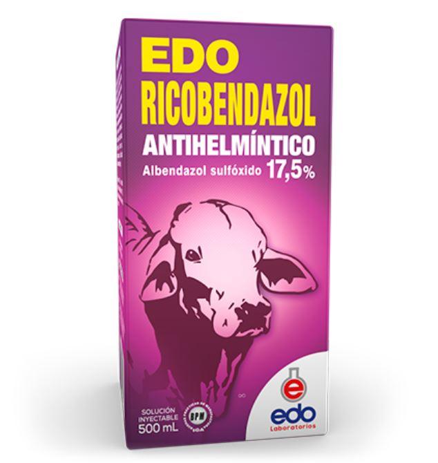 Edo ricobendazol edo laboratorios inyectable