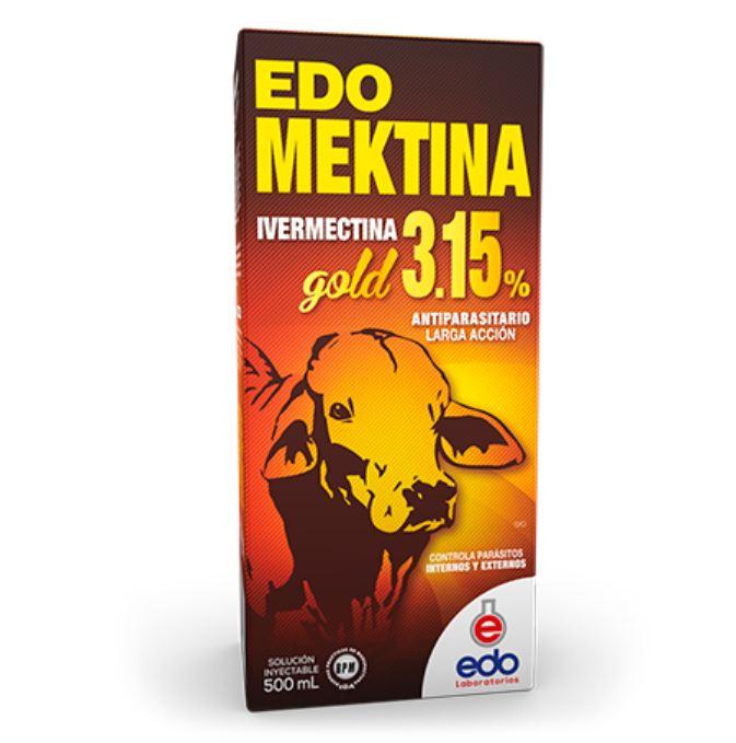 Edo mektina gold edo laboratorios inyectable