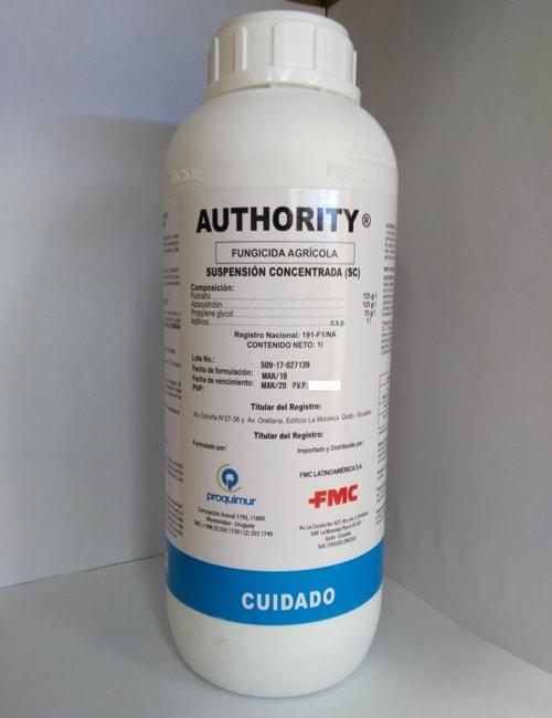 Authority 250 sc fungicida