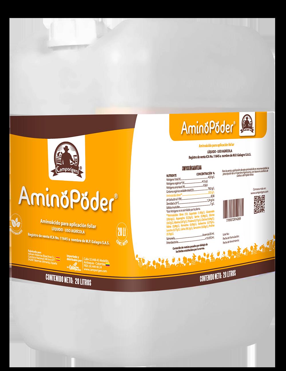 112863 aminopoder 20 lt.