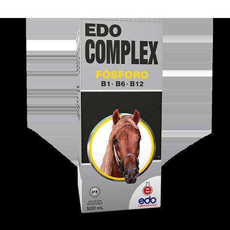 Vitamina complex equinos edo laboratorios