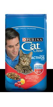 Cat chow activos