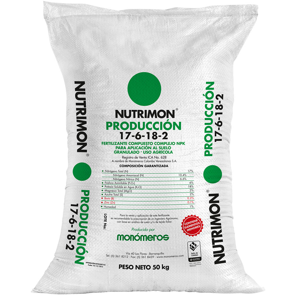 Produccion nutrimon