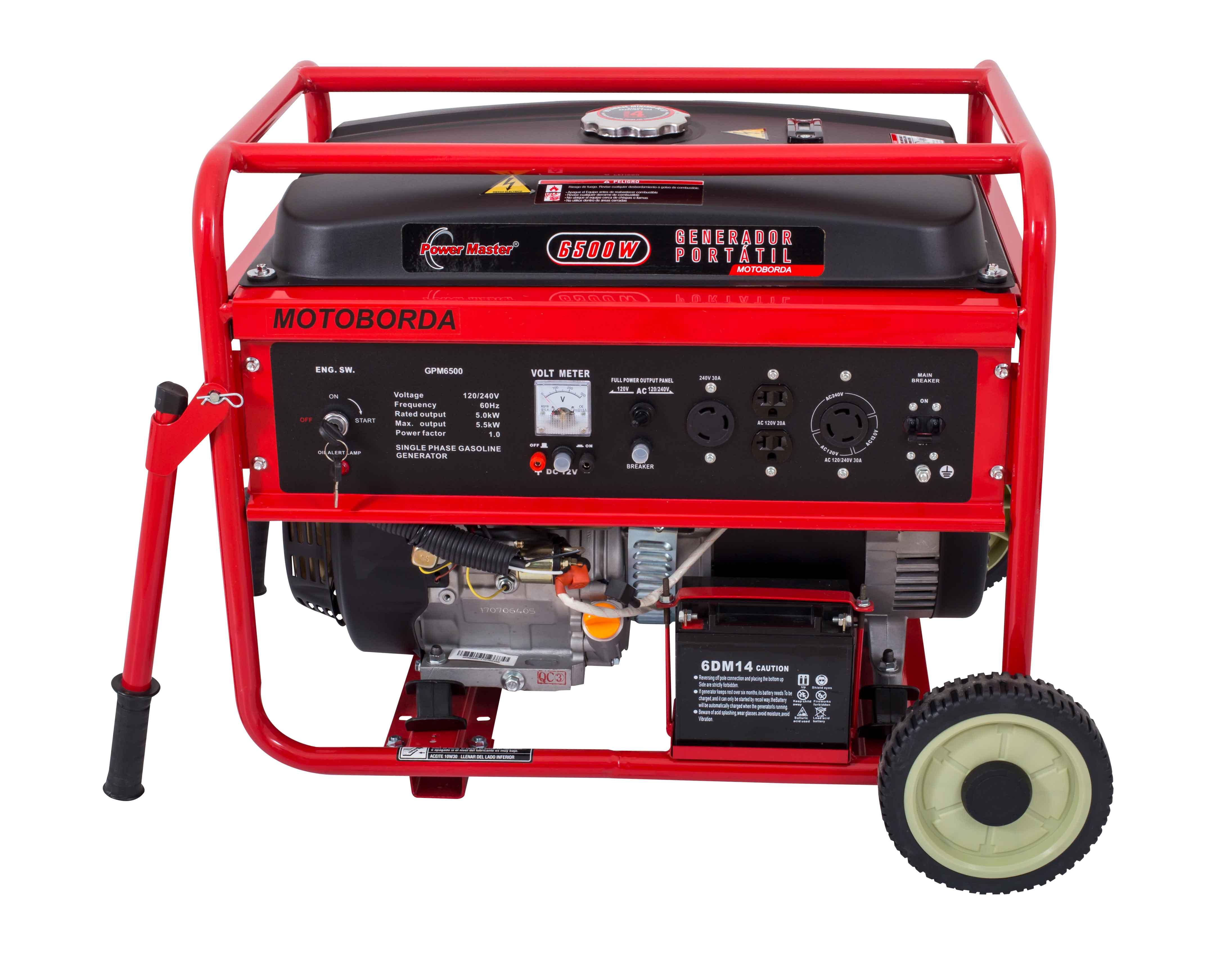 2 generador el%c3%a9ctrico power master gasolina 5.5kw