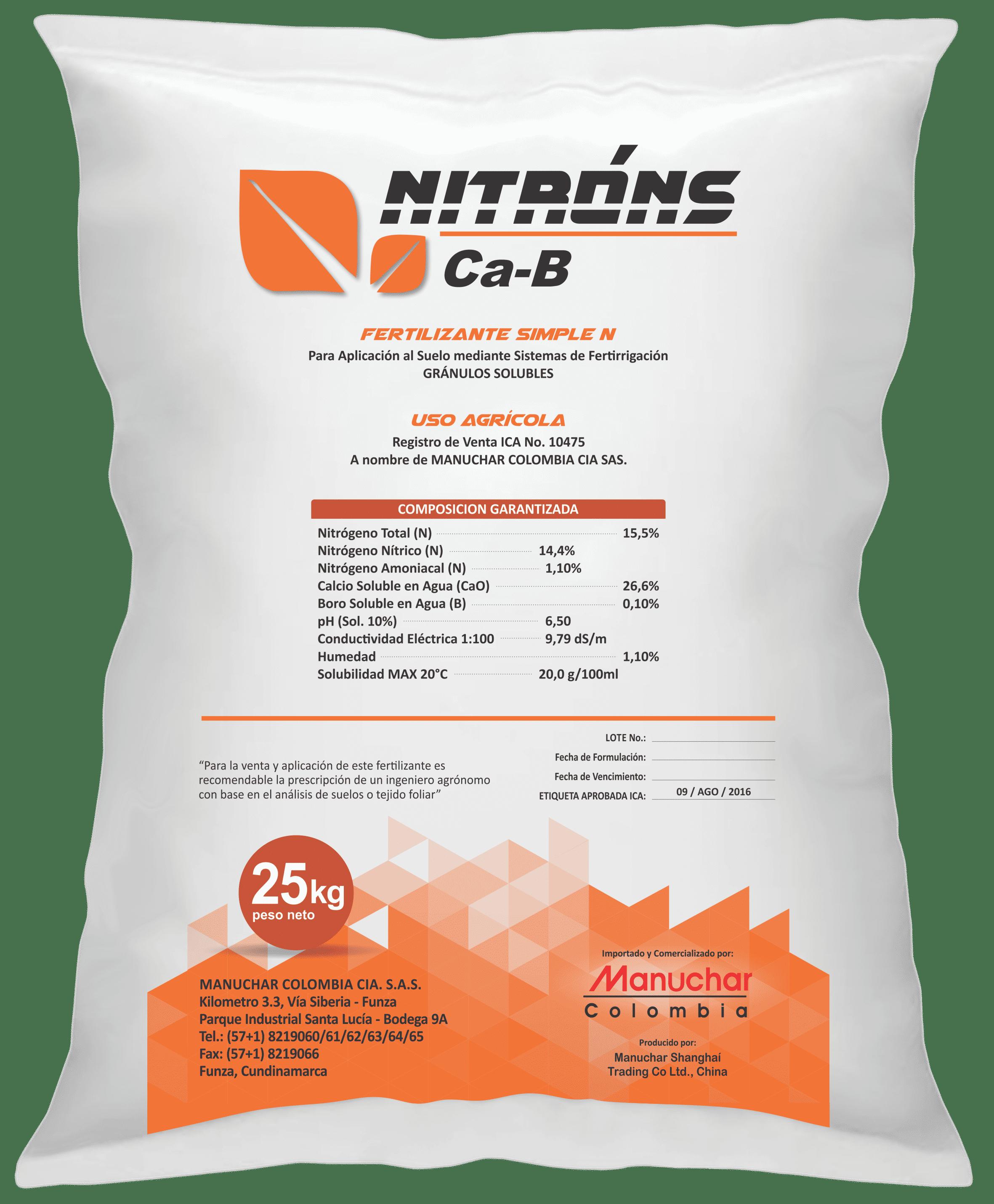 Nitrons ca b optimized