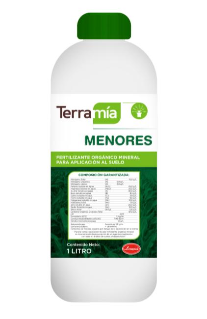 Fertilizante organico terramia menores levapan