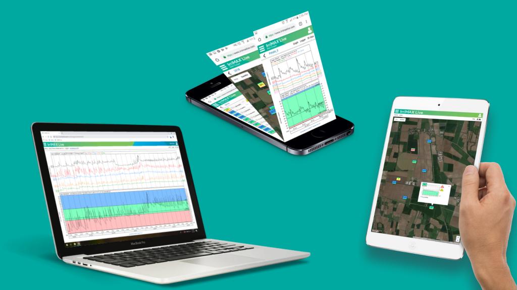 Software Irrimax para gestión de riego