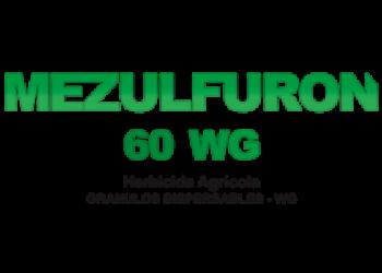 Herbicida metsulfuron 60 wg