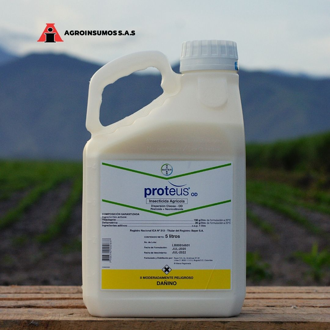 Insecticida proteus od bayer agroinsumos