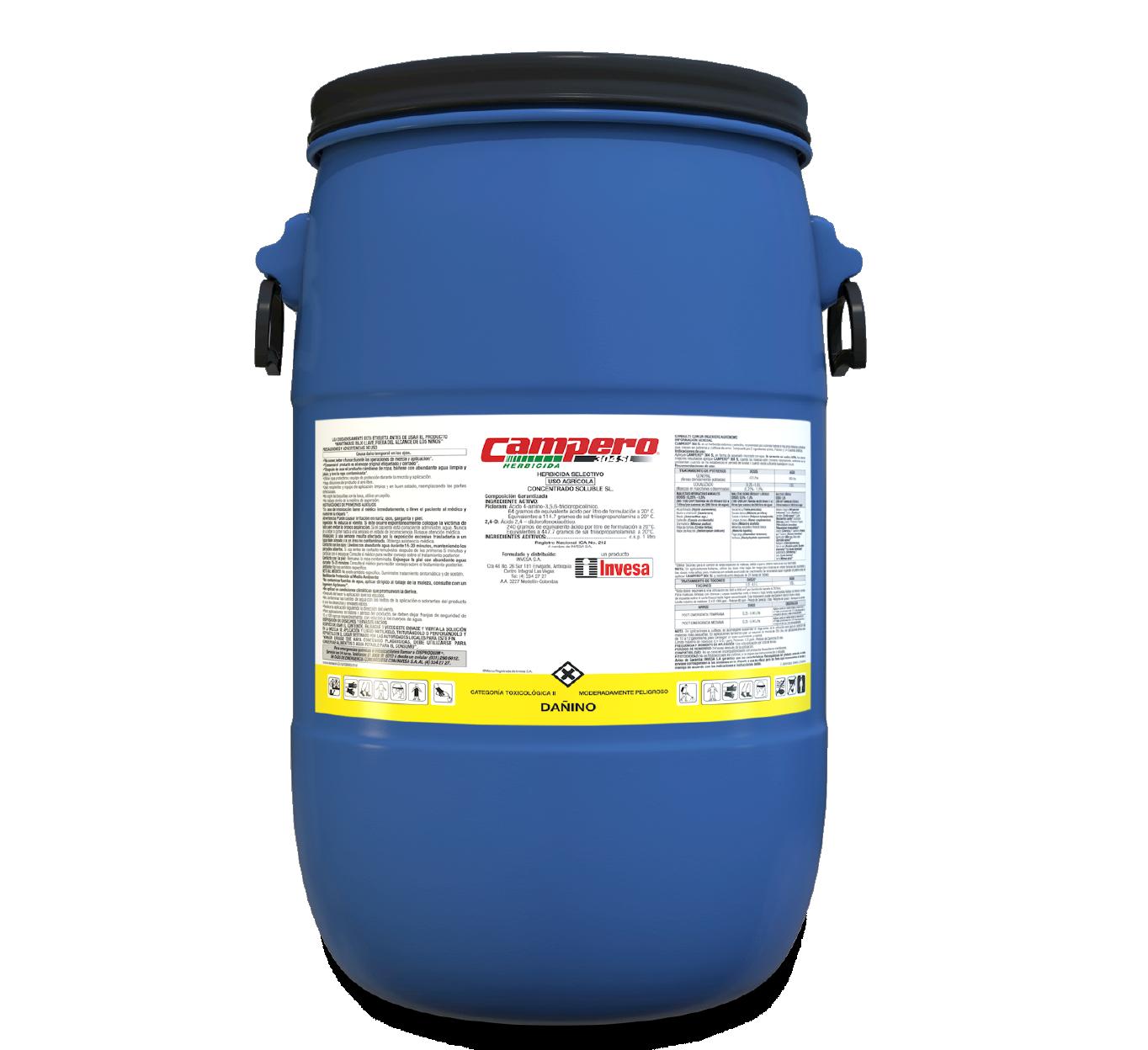 Herbicida campero 304 sl invesa 60 litros