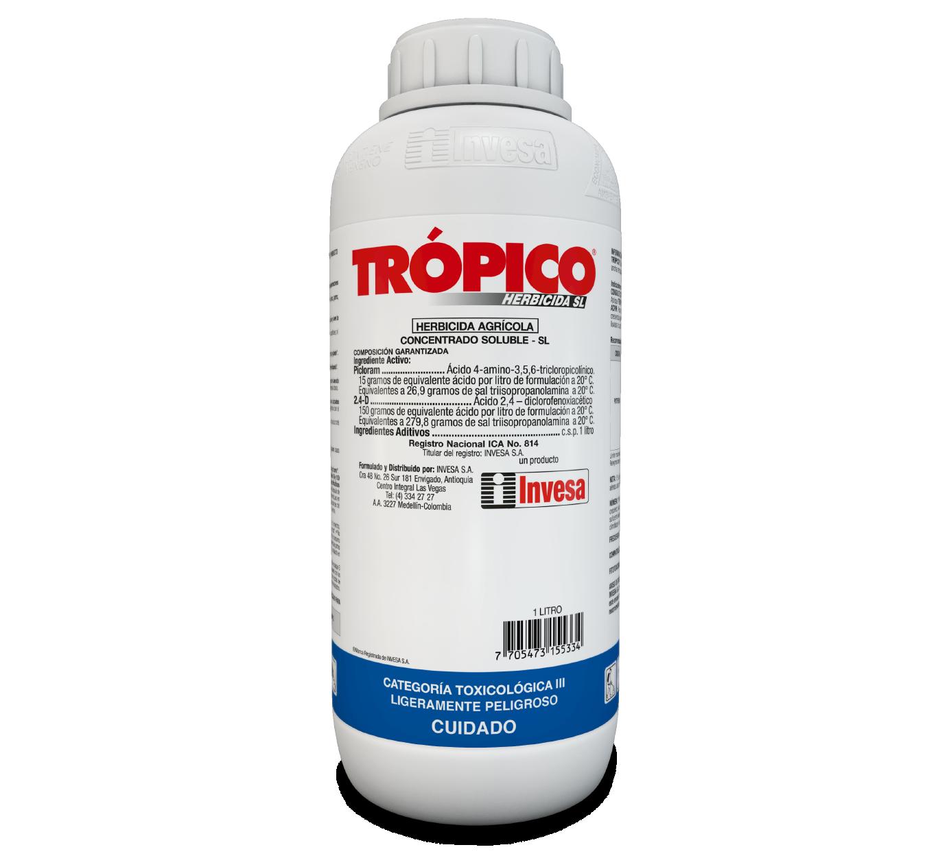 Herbicida tr%c3%b3pico sl invesa 1 litro