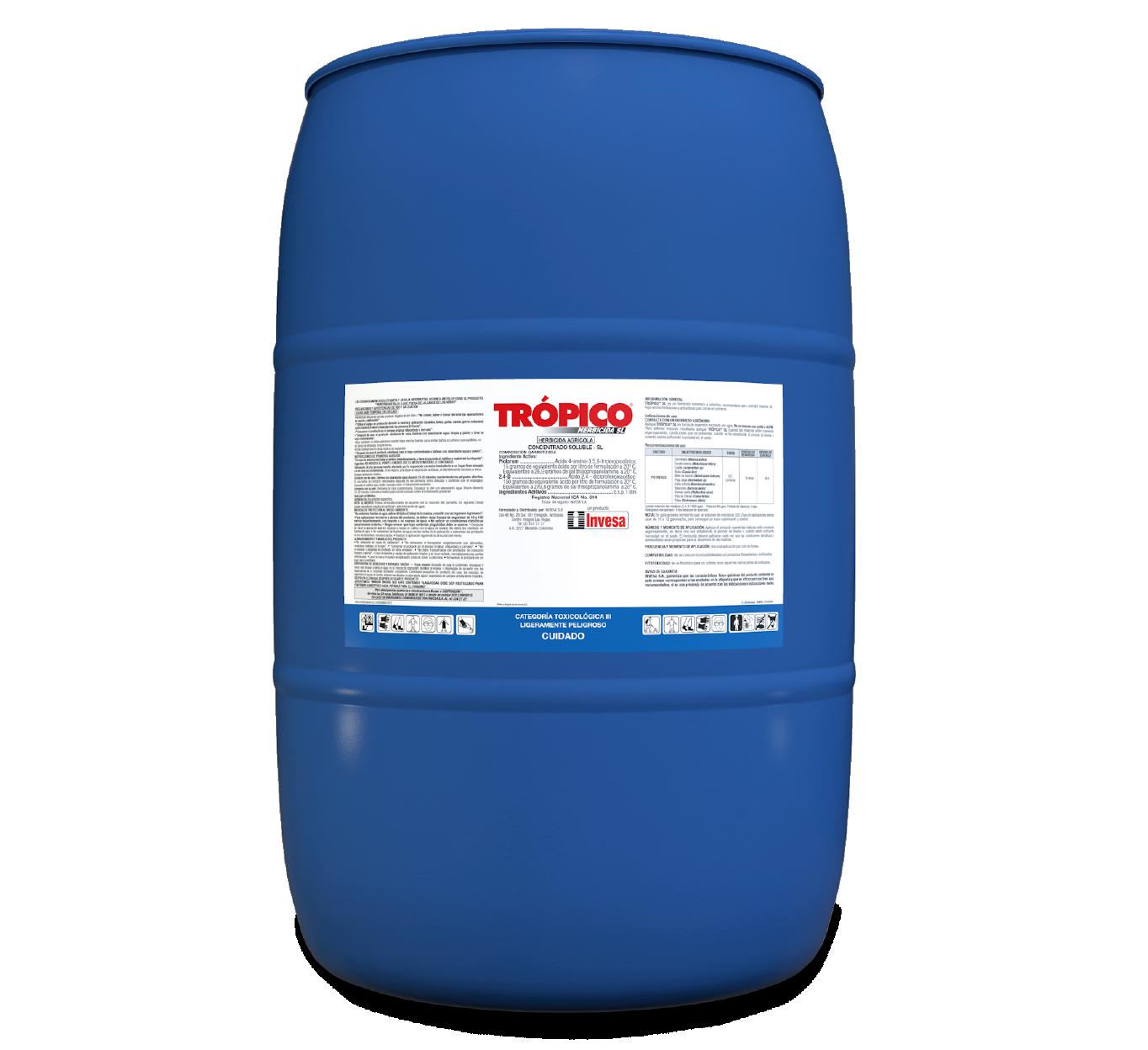 Herbicida tr%c3%b3pico sl invesa 200 litros