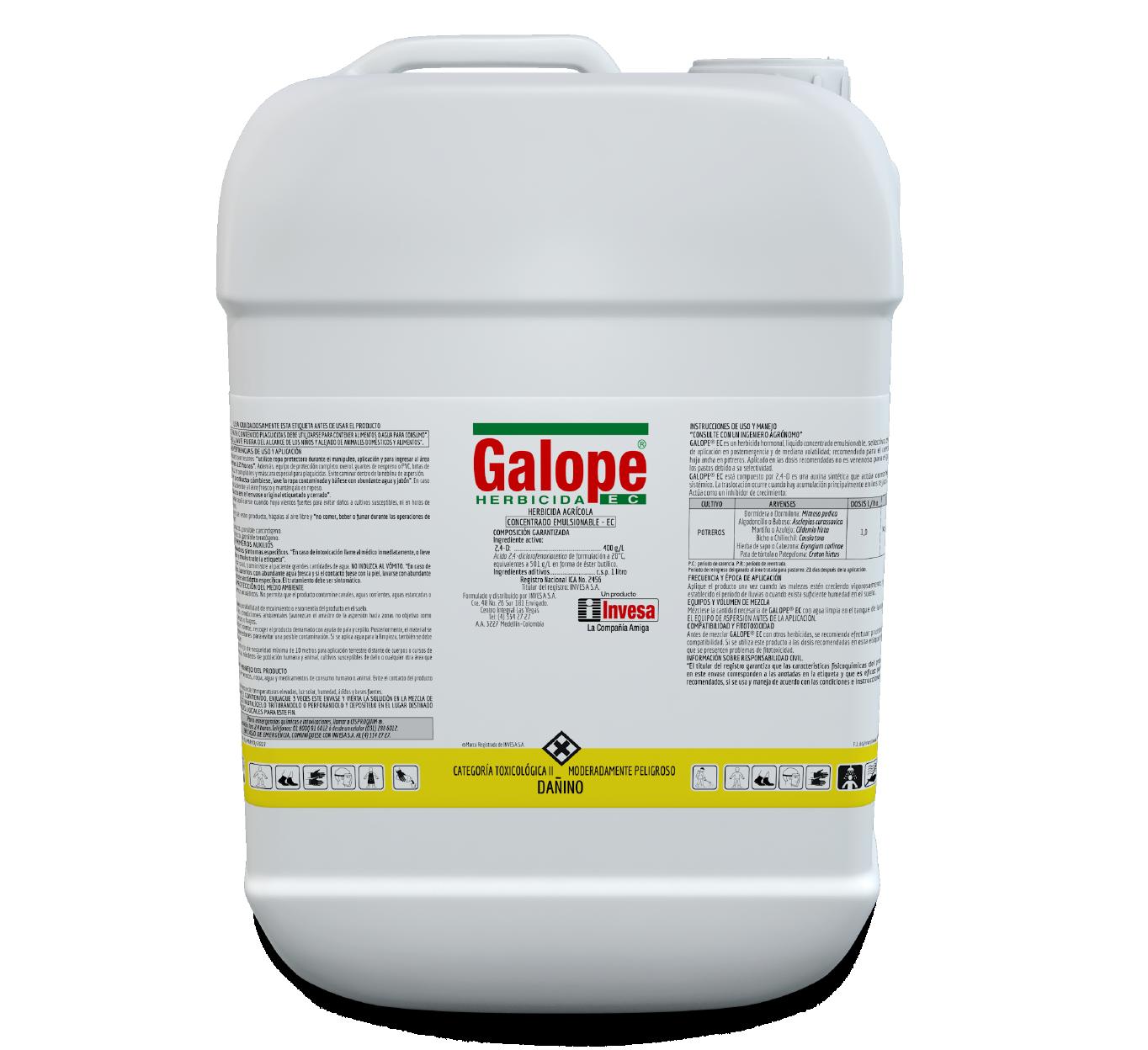 Herbicida galope ec invesa 20 litros