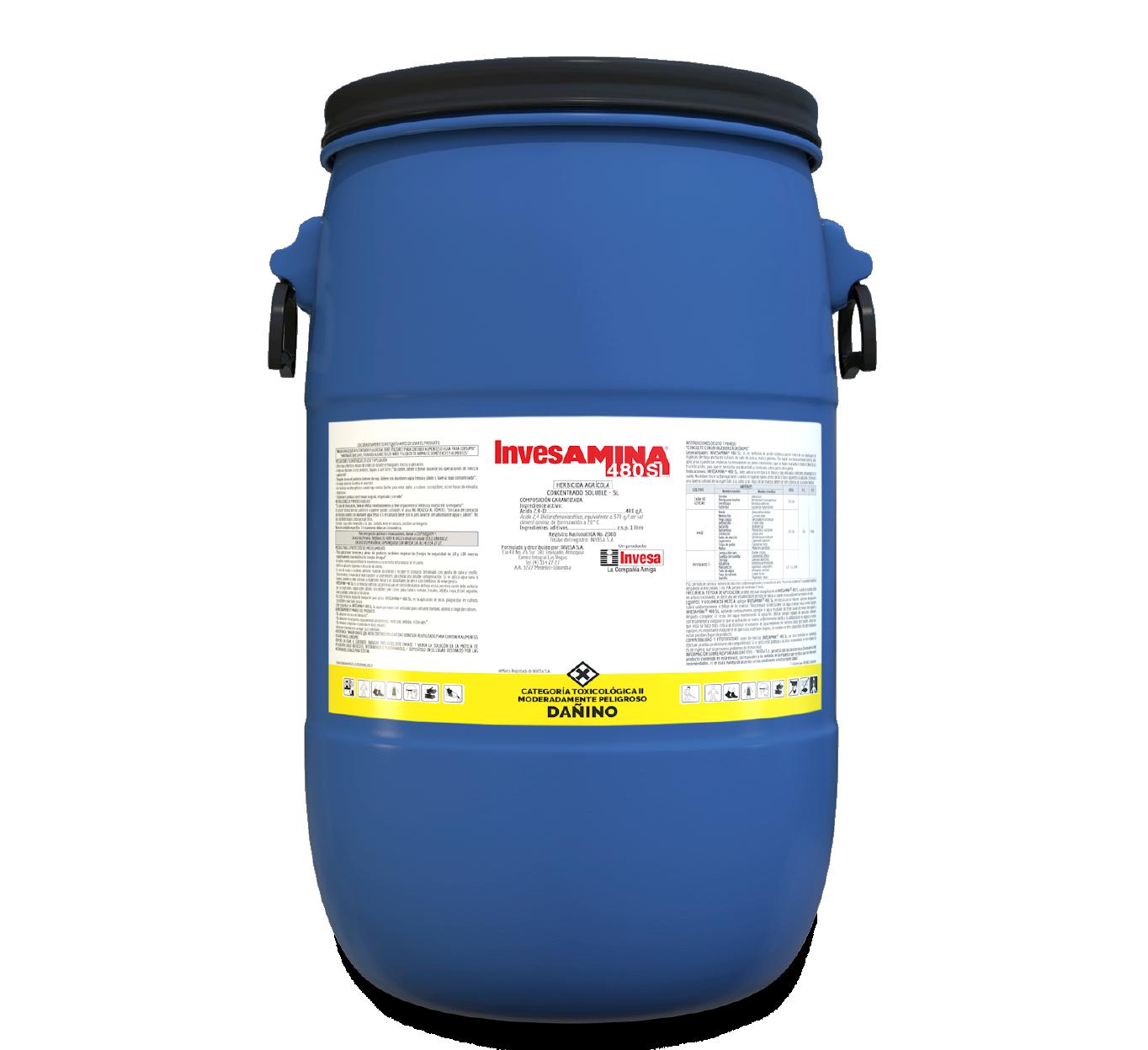 Herbicida invesamina 480 invesa 60 litros