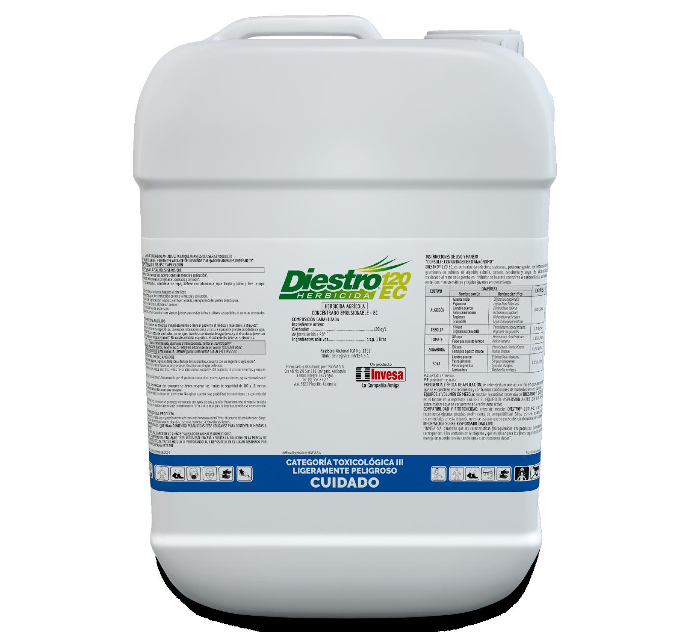 Herbicida diestro 120 invesa 20 litros