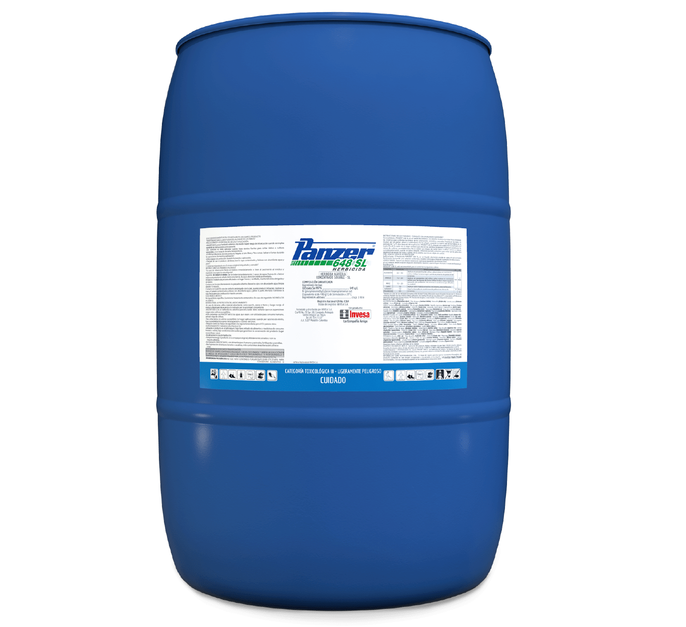Herbicida panzer 648 invesa 200 litros