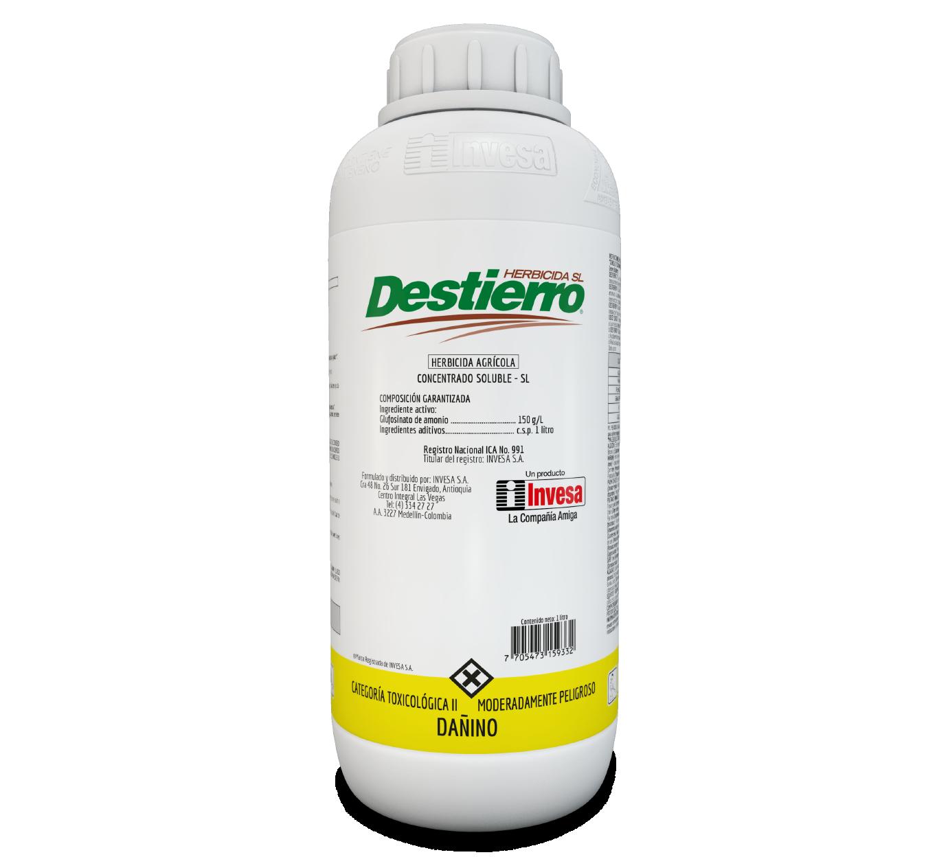 Herbicida destierro 150 invesa 1 litro