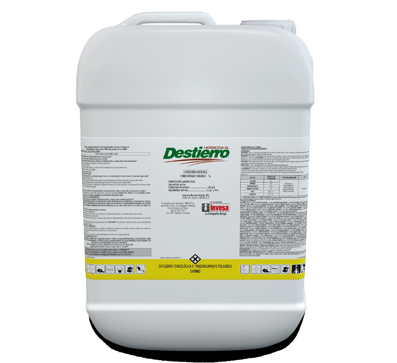 Herbicida destierro 150 invesa 20 litros