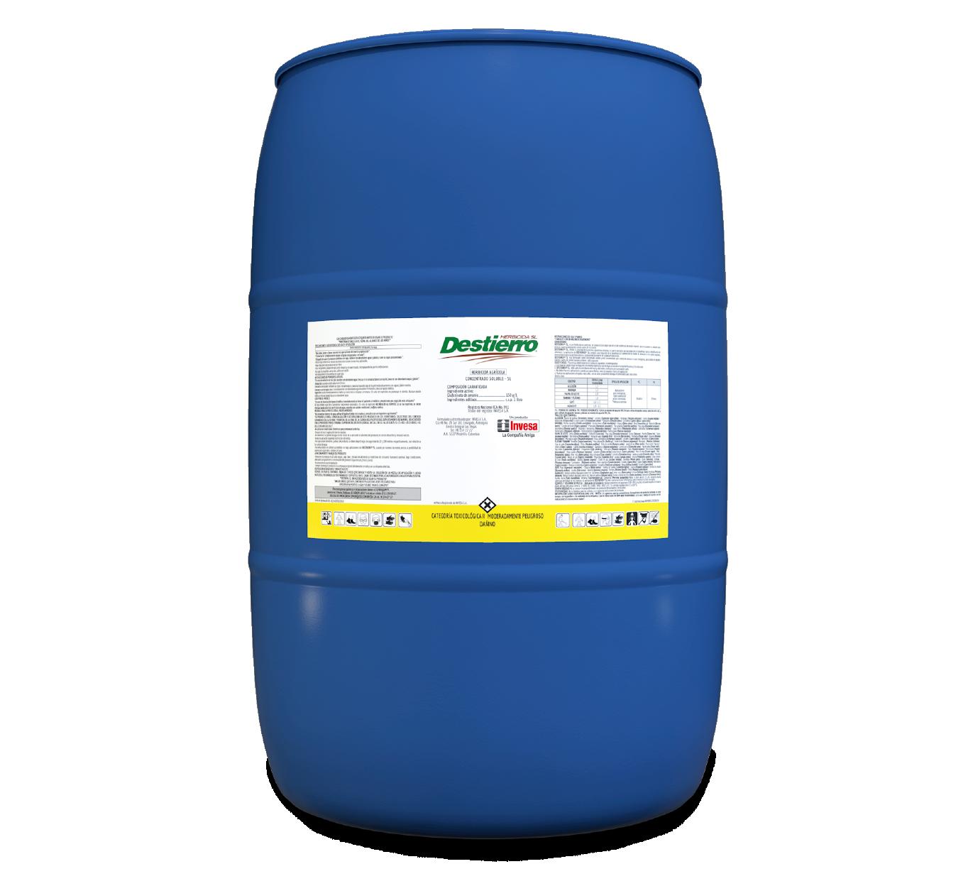Herbicida destierro 150 invesa 200 litros