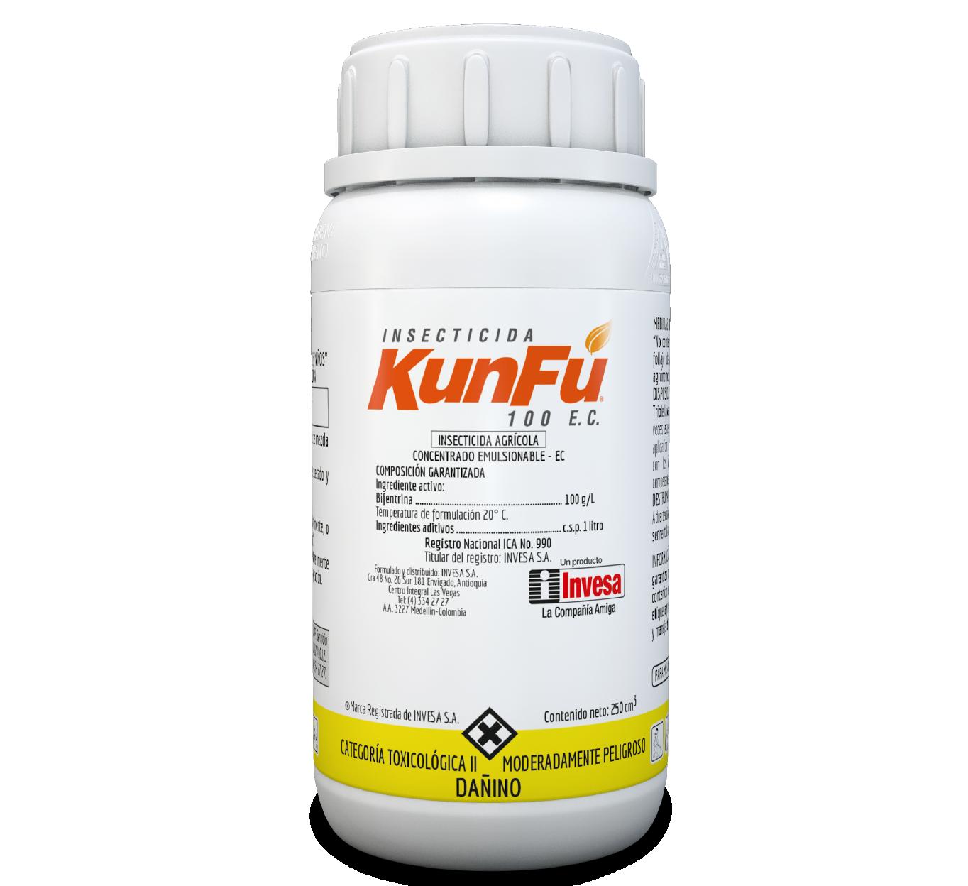Insecticida kunfu 100 invesa 250 ccpng