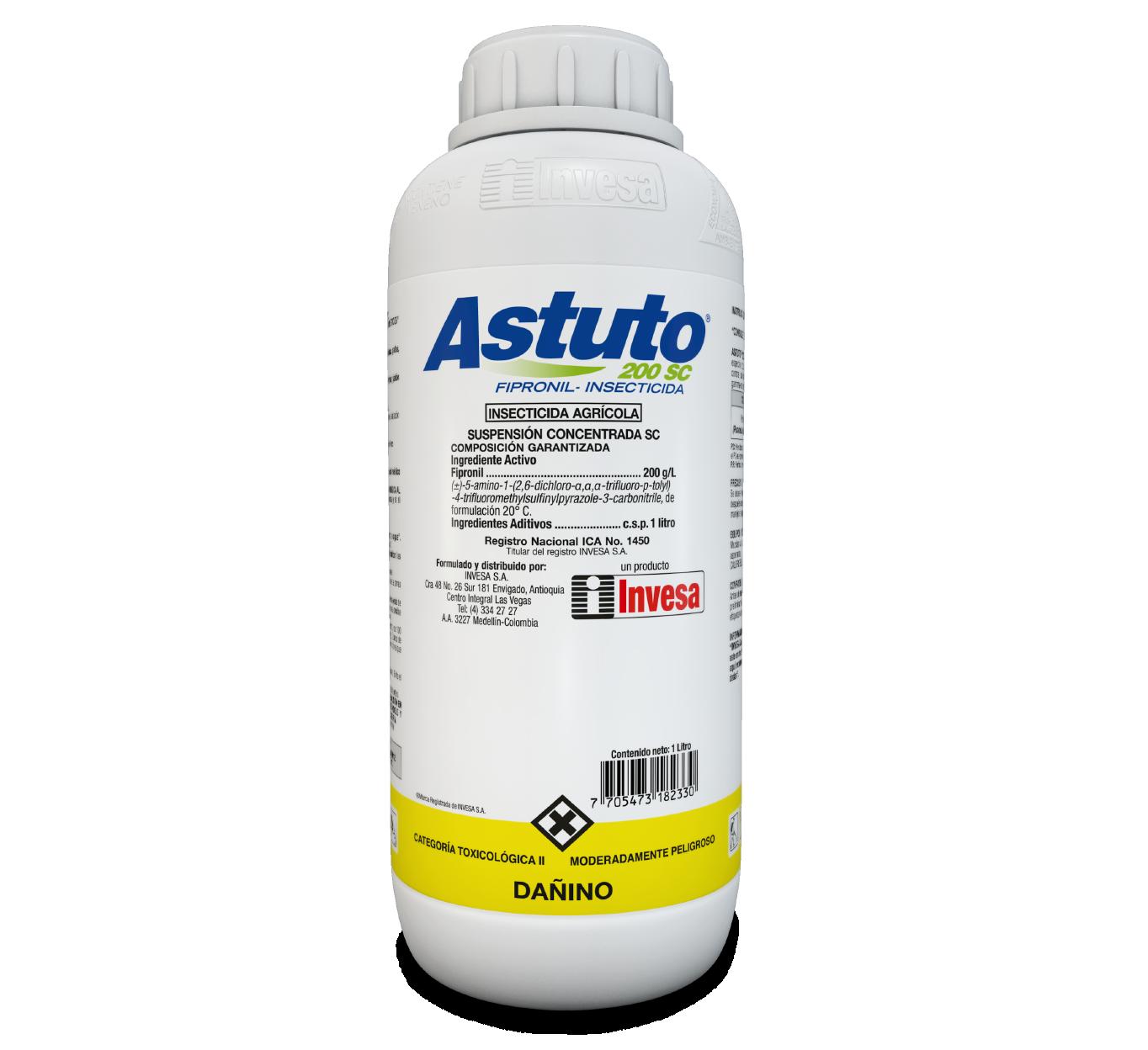 Insecticida astuto 200 sc invesa 1 litro