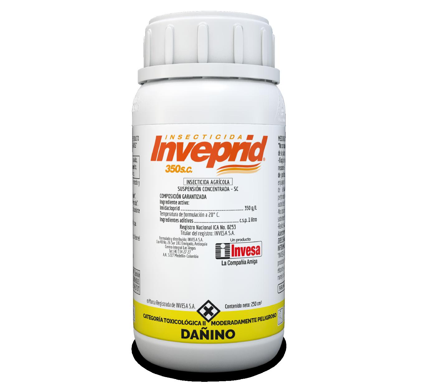 Insecticida inveprid 350 sc invesa 250 cc