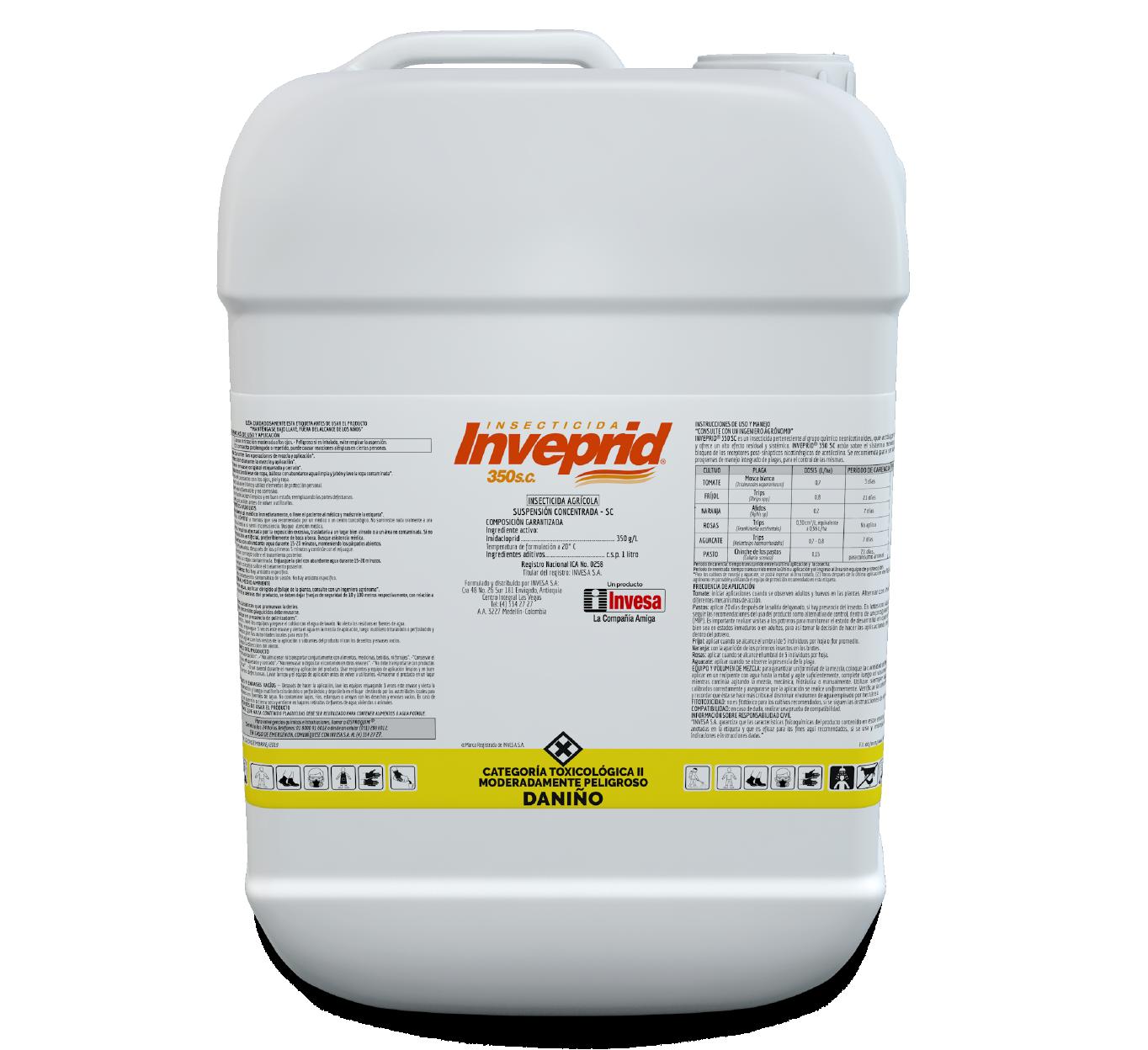Insecticida inveprid 350 sc invesa 20 litros