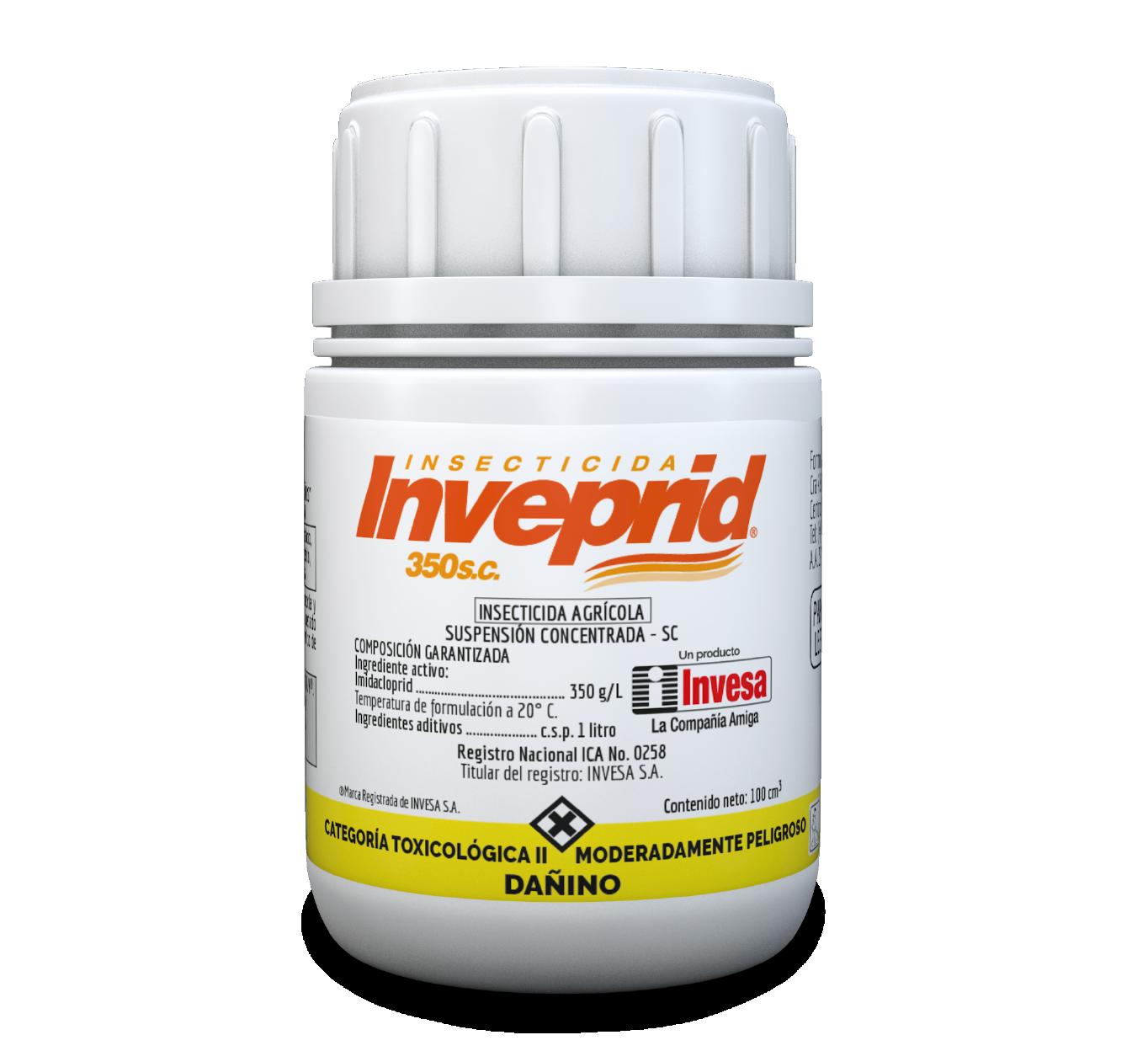 Insecticida inveprid 350 sc invesa 100 cc