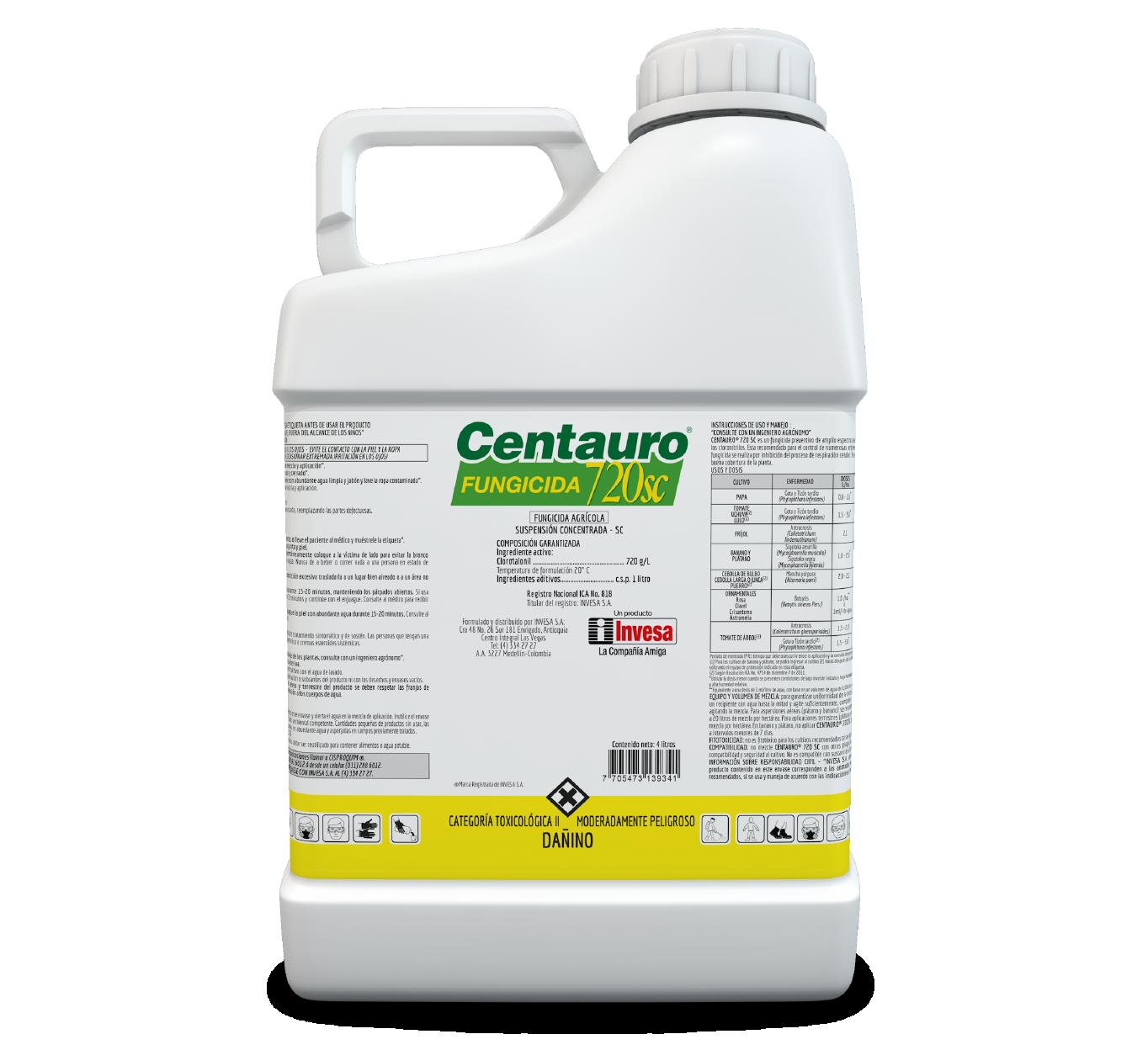 Fungicida centauro 720 sc invesa 4 litros