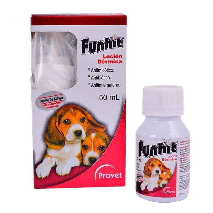 Funhit locion dermica x 50 ml