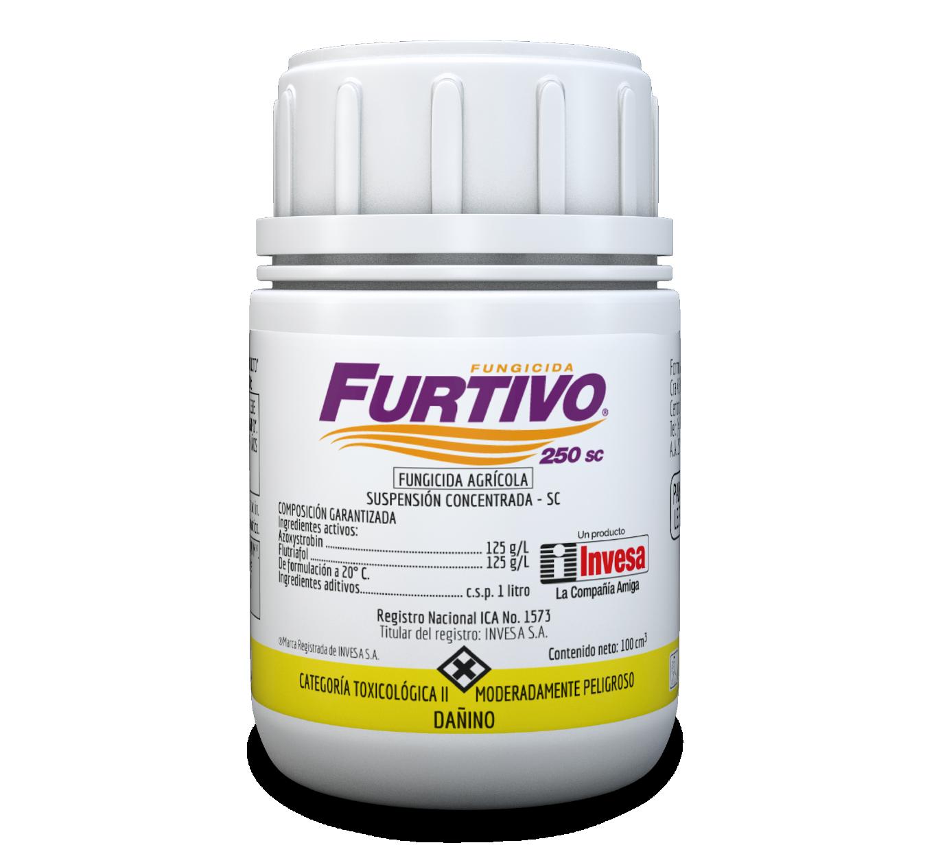 Fungicida furtivo 250 sc invesa 100 cc
