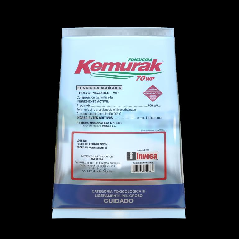 Fungicida kemurak 70 wp invesa 400 gramos