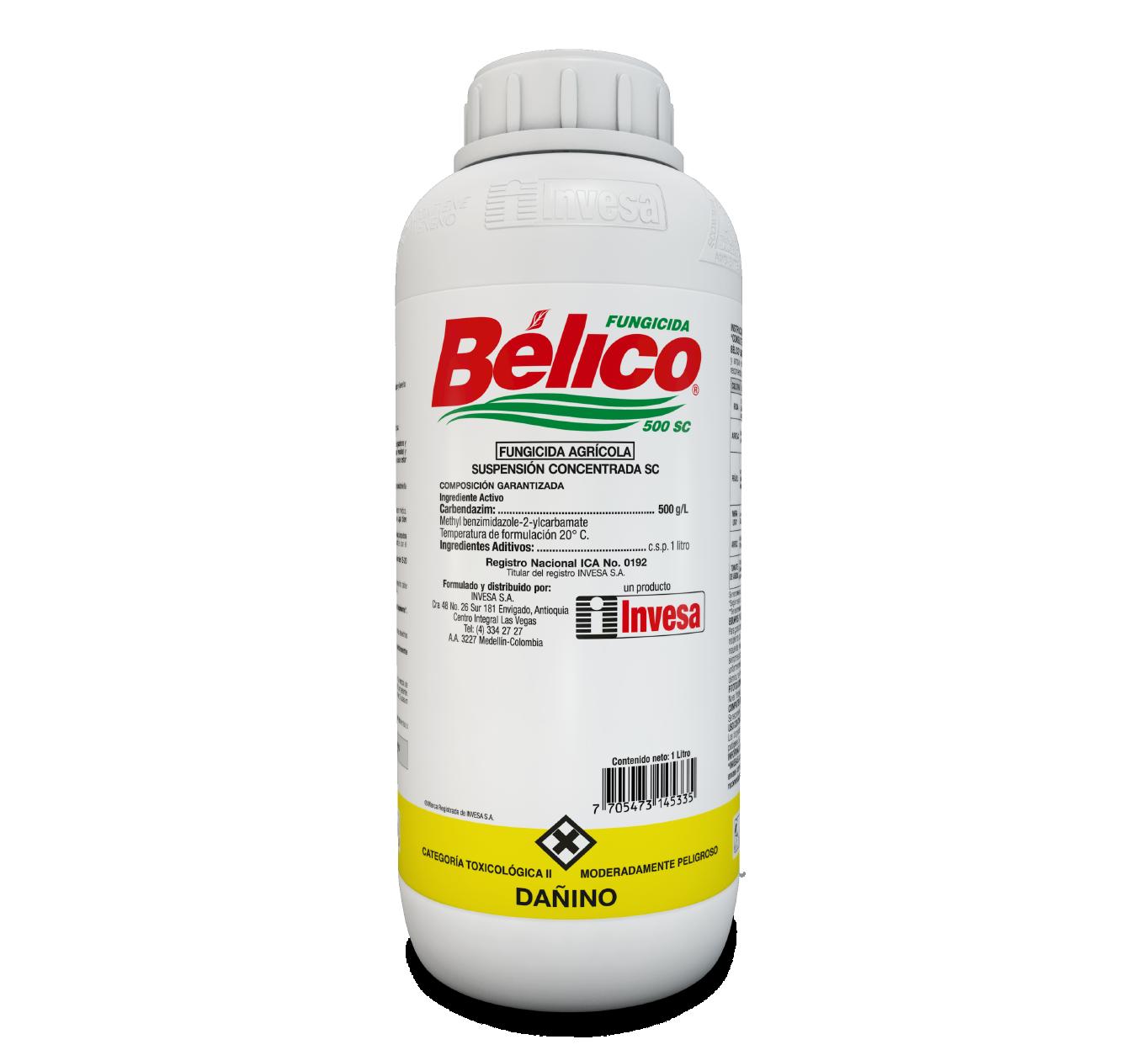 Fungicida belico 500 sc invesa 1 litro