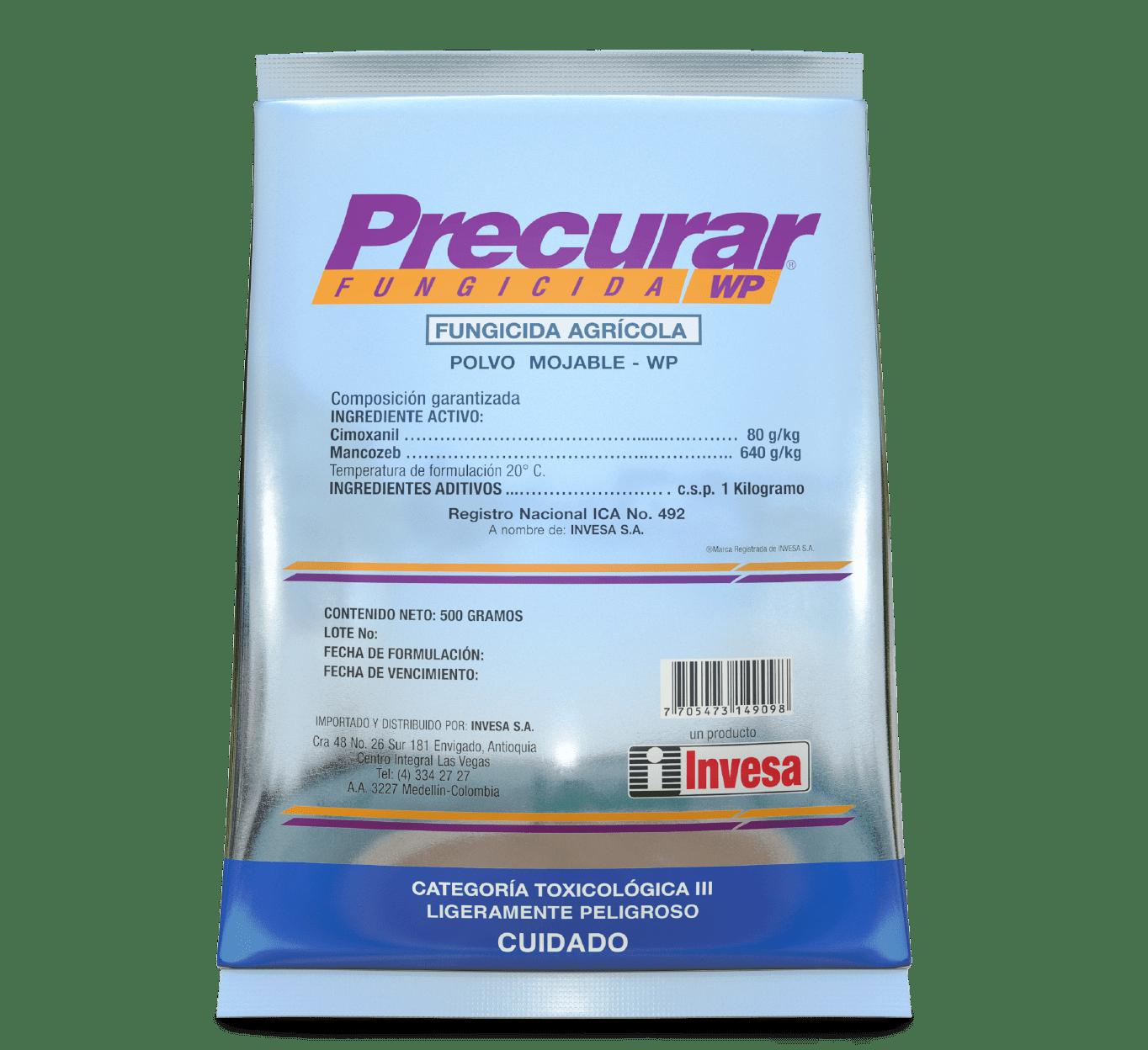 Fungicida precurar wp invesa 500 gr