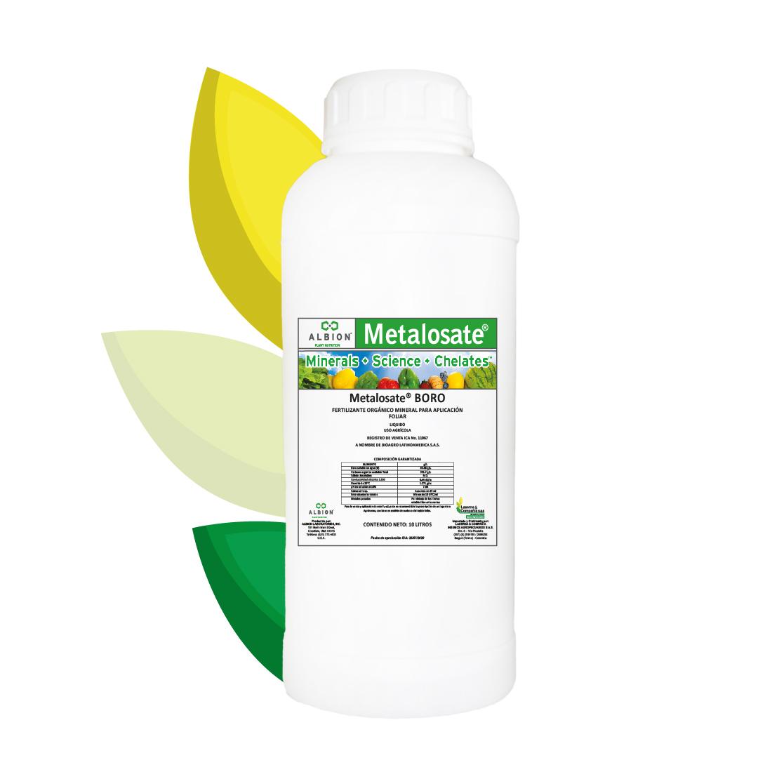 Fertilizante foliar metalosate boro laserna y compa%c3%b1ia albion