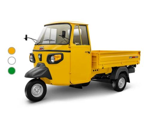 Piaggio ape xtra x pick up amarillo 2020