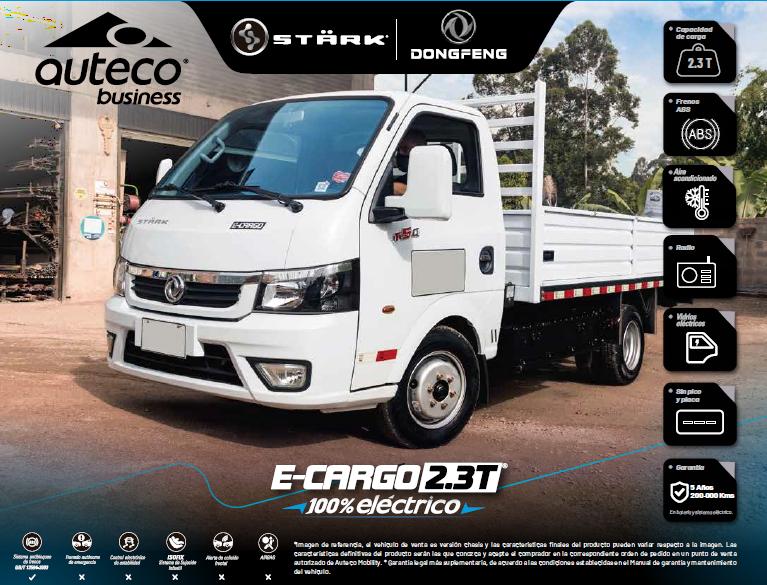 Camion electrico e cargo 2.3