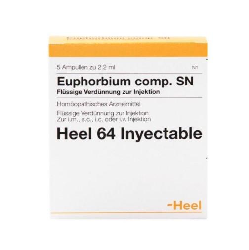 Euphorbium comp heel