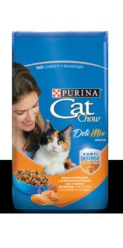 Cat chow adultos delimix f d purina x 10 kg