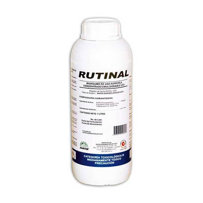 Nematicida rutinal  safer 1 litro tierragro