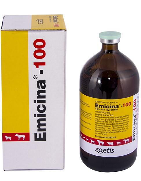 Antibiotico emicina 100 zoetis