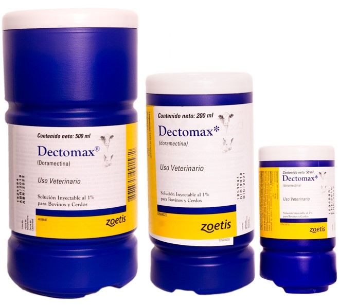 Antiparasitario dectomax zoetis
