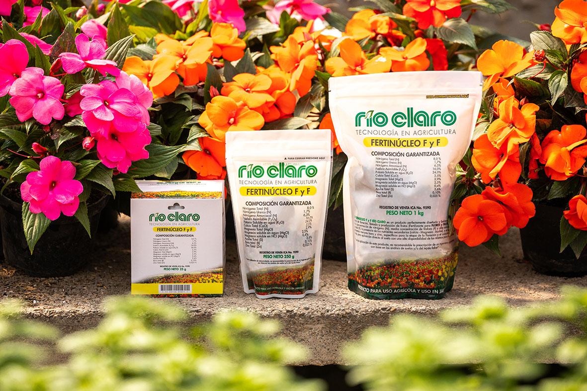 Fertilizante compuesto npk fertinucleo rio claro